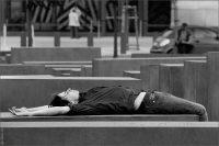 Берлин: мемориал жертвам Холокоста (Denkmal für die ermordeten Juden Europas) © Фото M. Кабаковой